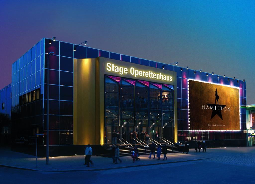 """Das Stage Operettenhaus Hamburg wird Deutschlands Heimat von """"Hamilton"""""""