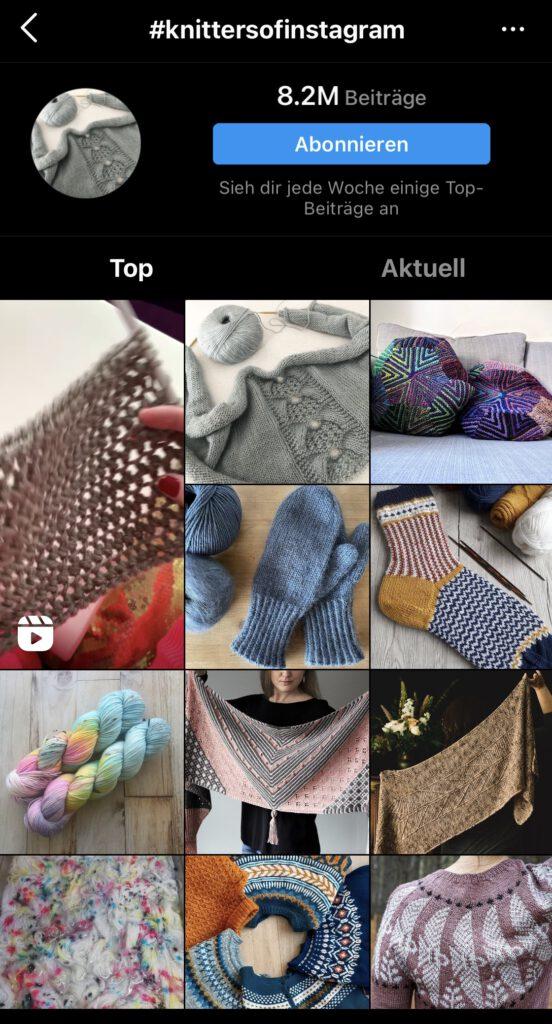 #knittersofinstagram auf Instagram